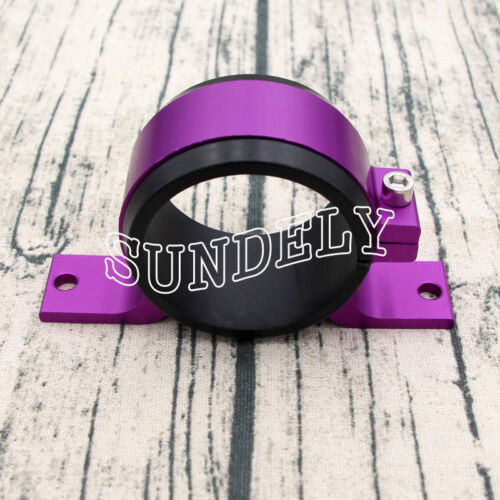 Fuel Pump Mount Mounting Bracket Clamp Cradle BOSCH 044 Purple 60mm