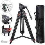 71 inch Professional DV Video Camera Alu Adjustable Tripod Stand For Live Stream
