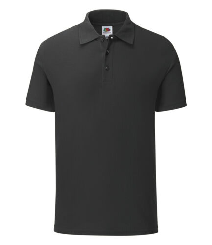 Fruit of the Loom Soft Touch Cotton Slim Fashion Fit Iconic Polo Shirt