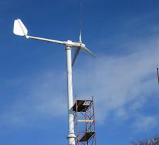 5kw Home Wind Turbine With Wind Generator Controller Grid Tie Inverter 220v