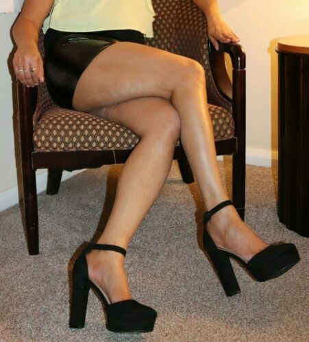 Pvc Wet Look Mini Jupe Women/'s Little Black taille haute micro mini Casual Stretch pour