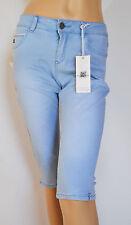 Broadway stylishe Capri Jeans Hellblau Mod. Victoria  Gr.XS Neu