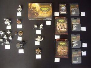 Miniatures Hordes Ral Partha Chroniques Mutantes Warmachine Rhum / Os Infinity A14