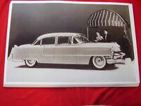 1955 Cadillac 4dr Sedan 62 Series 11 X 17 Photo Picture