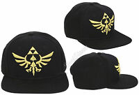 Legend Of Zelda Triforce Raised Logo Snapback Baseball Ball Cap Flat Bill Hat