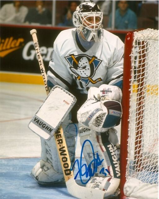 Anaheim Ducks Ron Tugnutt Signed Autographed 8x10 COA