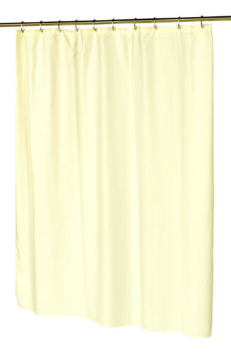 WAFFLE WEAVE W// METAL GROMMET Ivory HOTEL COLLECTION FABRIC SHOWER CURTAIN