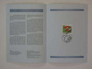 (98j29)Bund Erinnerungsblatt 1998 mit ESST Mi.Nr. 2010 Fußball FC Kaiserslautern