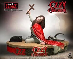 """Ozzy Osbourne """"Le blizzard d'Ozz"""" Lim.3000 Rock Iconz 1/9 Statue 23cm Knucklebonz"""