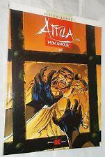 """Cartonato Attila Mon Amour vol. 1 """"Lupa"""" Alessandro Editore del 2001 come nuovo"""