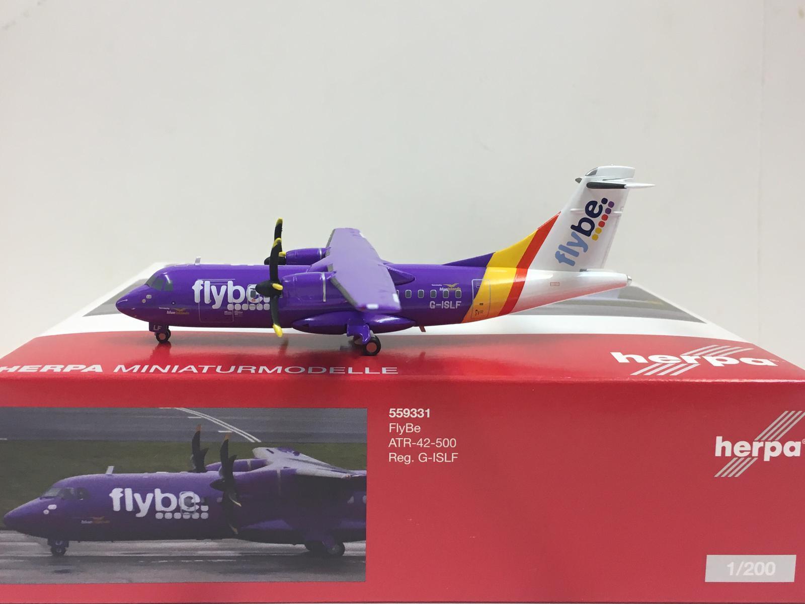 Herpa Wings Flybe ATR-42-500 1 200 G-islf 559331