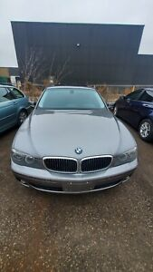 2006 BMW 750i Sport package