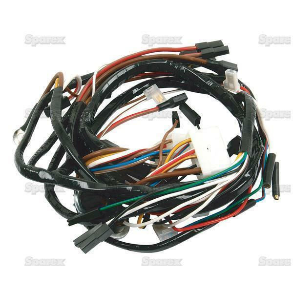 c9nn14a103c ford tractor parts wiring harness front 5600 6600 7600 for sale  online   ebay  ebay