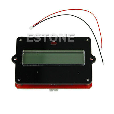 Battery Capacity Tester Indicator For Lead-acid Lithium LiPo LCD 12V 24V 36V 48V