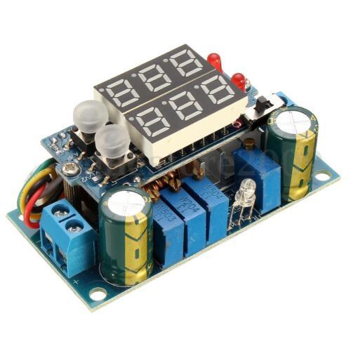 5A MPPT Solar Panel Controller DC-DC Step-down CC//CV Charging Module Display