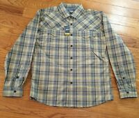Eddie Bauer Expedition Travex Live Your Adventure Long Sleeved Shirt $80 Xl493