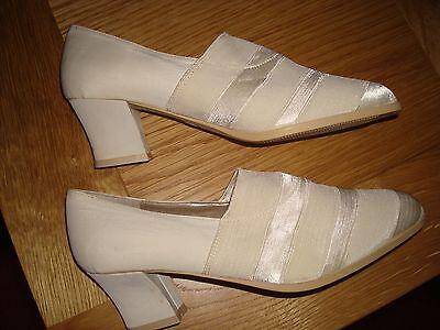 Nueva Crema ALYSSA zapatos talla 39 conveniente para bodas etc.