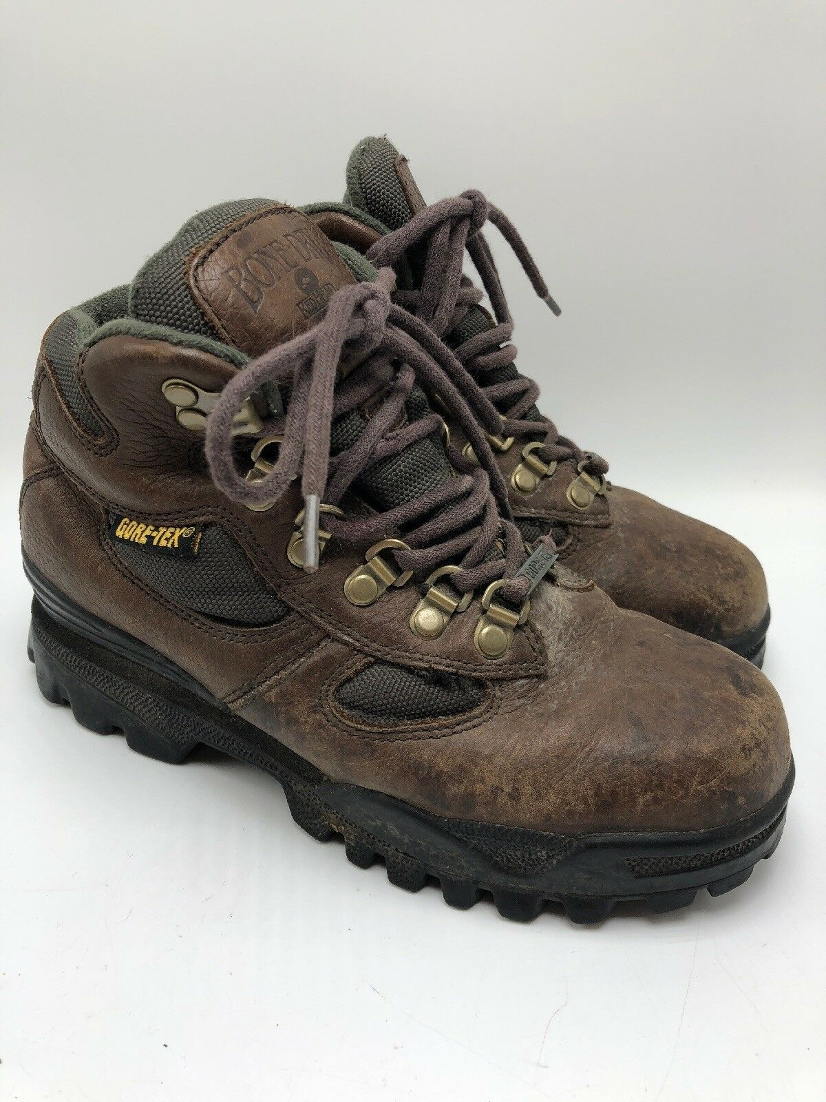 Redhead Bone Dry  Womens Hiking Ankle Boots Brown Leather Gore-Tex Size 6.5 M