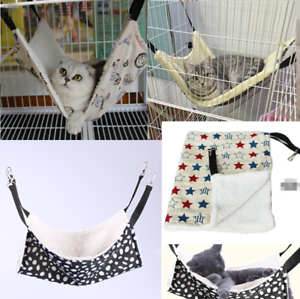 Pet-Rat-Rabbit-Ferret-Chinchilla-Cat-Hammock-Puppy-Hanging-Bed-Cover-Blankets