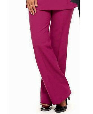 SIMON JERSEY CROPPED WHITE BEAUTICIANS TROUSERS FT1050 SPA SALON HAIRDRESSERS