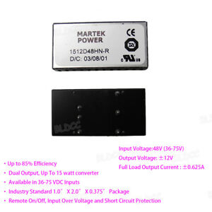 Input-48V-Output-12V-15Watt-DC-DC-Converter-Dual-Output-Isolated-Power-Module-FY