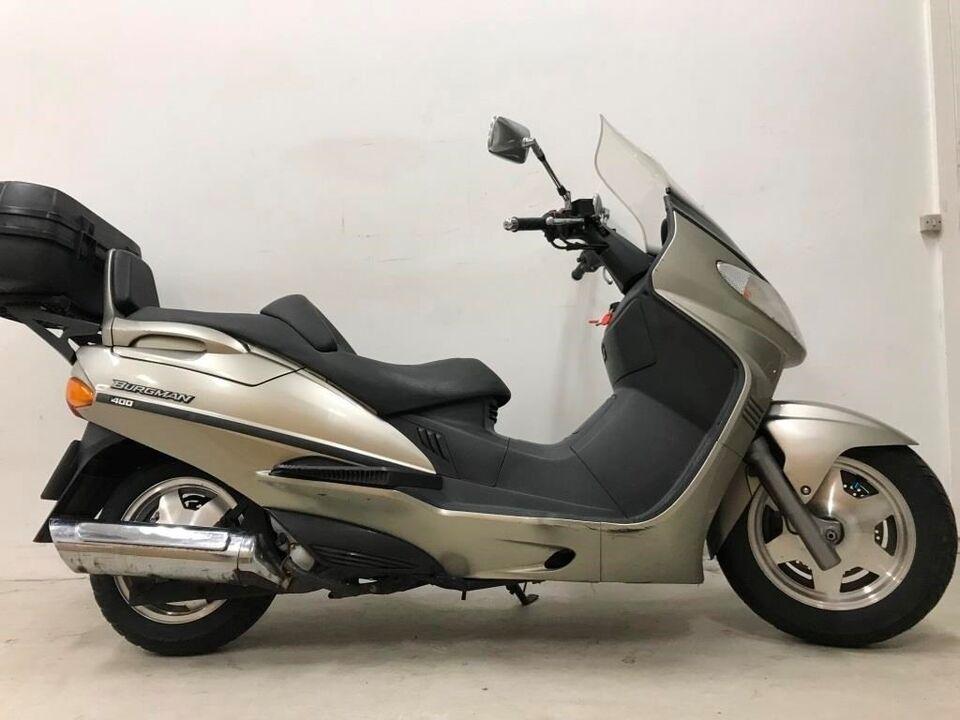 Suzuki, AN 400 BURGMAN, ccm 400