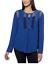 NEW-Joseph-A-Women-039-s-Crinkle-Blouse-Crochet-Detail-Loose-Fit-Top-Shirt-VARIETY thumbnail 4
