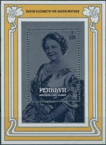 Cook-Islands-Penrhyn-1985-SG382-Queen-Mother-MS-MNH