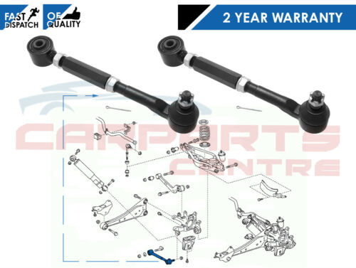FOR TOYOTA RAV4 2.2 D4D REAR LOWER SUSPENSION WISHBONE TRACK CONTROL ARMS RODS