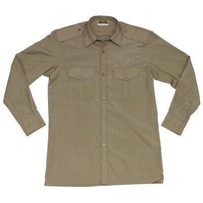 Details zu Tschechische Armee Feldhemd versch. Größen Khaki Army Hemd CZ Militär uniform
