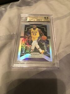19-20-Panini-Prizm-Lebron-James-Silver-Refractor-BGS-9-5-Gem-Mint-w-10-Surface
