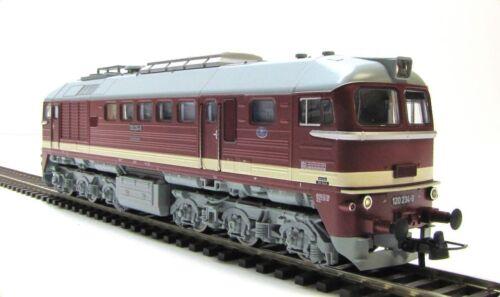 NEU ROCO 73802 DR Diesellok 120 234-0 Ep IV KK PluX22 Spur H0 1:87