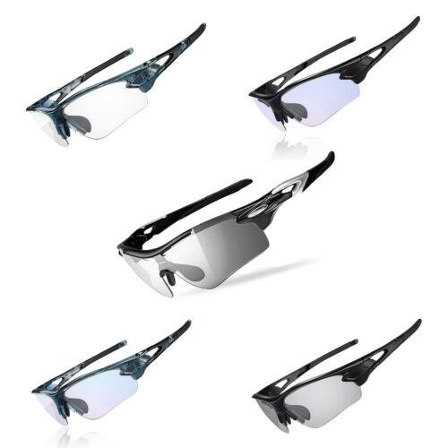 Rockbros Occhiali Sportivi Polarizzata Occhiali Bicicletta uv400 Photochrome Occhiali da sole