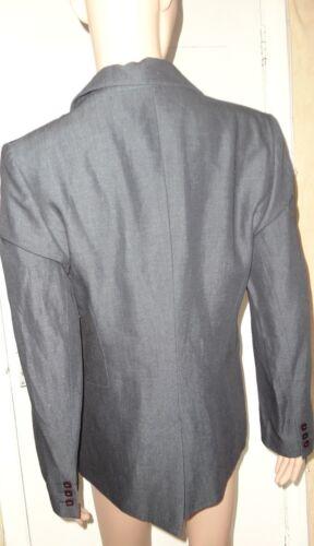 in Taglia Bnwt giacca 80 Oasis blu giacca 62 38 10 Rrp lino £ lana denim qqUtRS