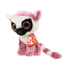 TY Beanie Boos - LEEANN the Lemur (Glitter Eyes) (6 in) - MWMTs Boo Toy