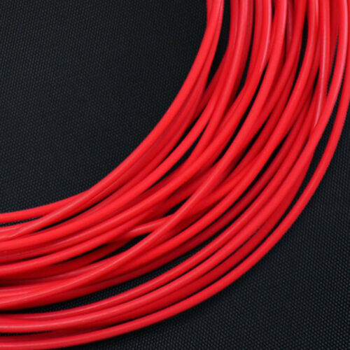 Red 0.3mm~7.46mm Id 150V AWG PTFE Tube Cable Sleeve Pipe Wall 0.15 0.2mm
