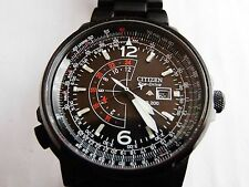 Citizen Eco-Drive Promaster Nighthawk Black Pilots Watch BJ7019-62E