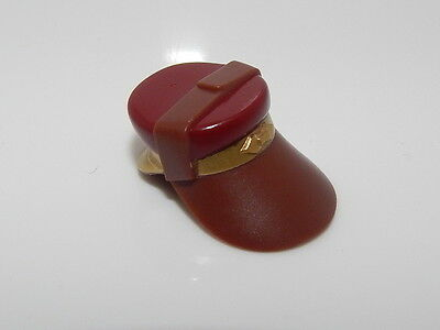 Dark Red Top and Gold Flap Captain Panaka #H79 Lego Star Wars Neck Protector