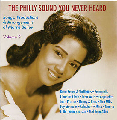 Philly Sound You Never Heard Vol.2 CD-Philly Soul GirlS 2-NORTHERN SOUL