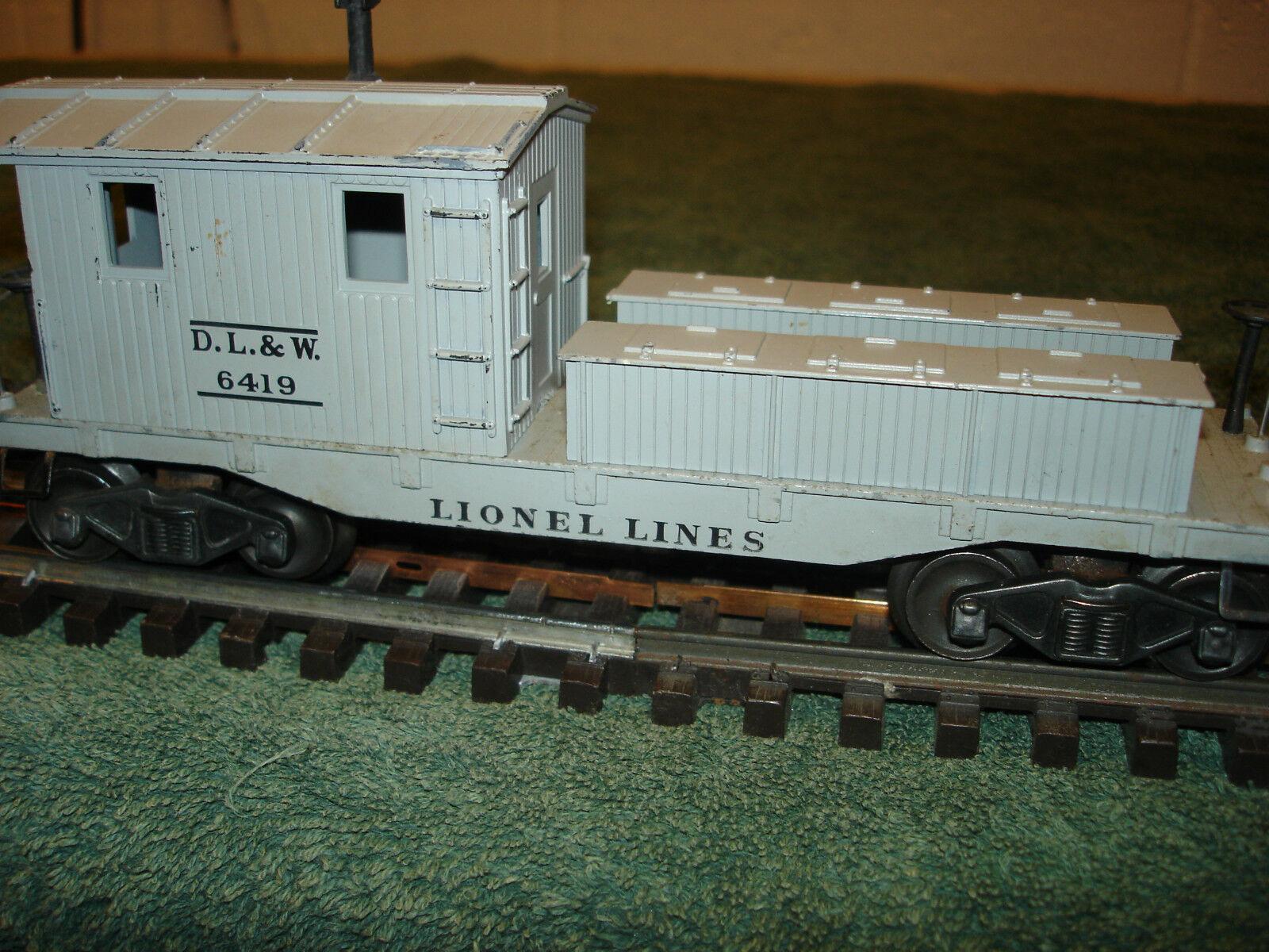 Lionel 6419 D.L.&W  working caboose.