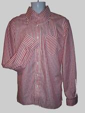 Lrg MODERNACTION Shirt Red Stripe Skinhead Mod Oi! Ska Infa Riot Fred Perry a