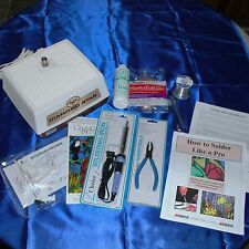 Stained Glass Beginner Kit with GLASTAR Diamond Star Grinder + TOOLS ~(No Glass)