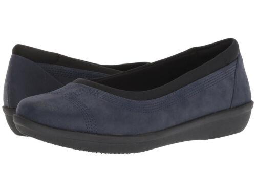 Select Size Clarks Women/'s Ayla Low Ballet Flat Navy