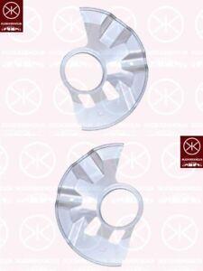 75-88 Ankerblech Spritzblech Hitzeschutzblech Satz vorne Opel Manta B Bj