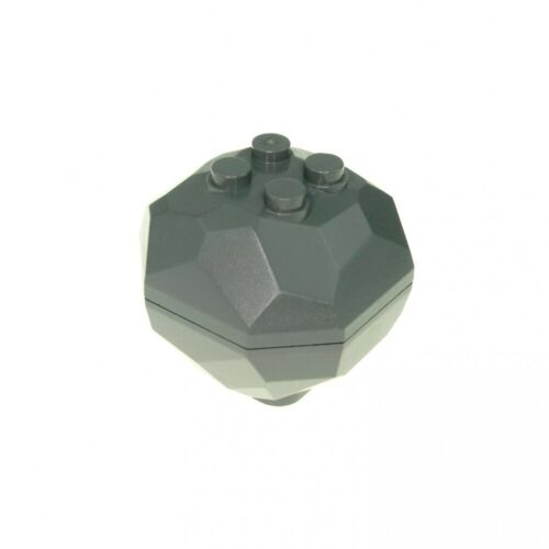 1 x Lego System Rock New-Dark Grey Chunk Rock Stone Castle Star Wars 30293