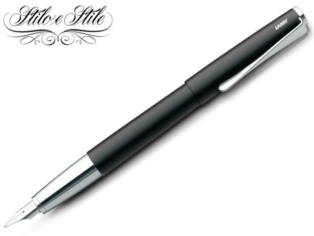 Lamy Studio Black 067   Penna Stilografica Lamy   Vari Pennini   Fountain Pen