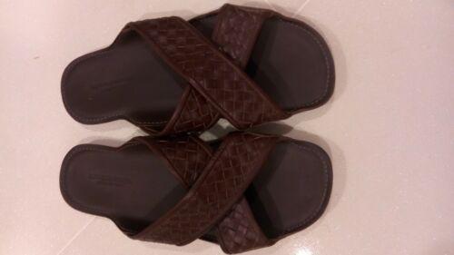 Bottega Veneta Sandals Men's Size 11 Designer Leat