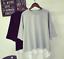 Mujeres-ninas-Coreano-de-Moda-Informal-Mangas-Cortas-Suelta-Blusa-Camiseta-Camiseta-Prendas-para-el miniatura 6