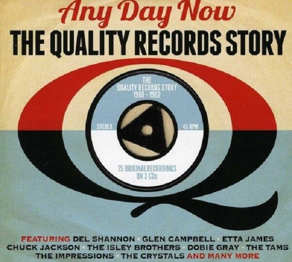 Any Day Now-The Quality Records Story 3-CD NEW SEALED Del Shannon/Ray Peterson+
