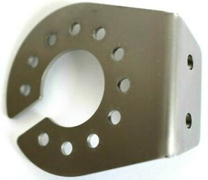Steckdosen-Halter-fuer-7-13-polige-Steckdose-Edelstahl-2-5-mm-doppel-Schliff